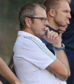 Jörn Meyer (Ex-Spieler und Ex-Coach des TSV) im Kreispokal